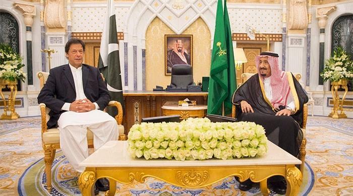 PM Imran, who is seeking loans to reservice debts, meets Saudi King Salman