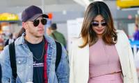Priyanka and Nick at wedding chapel in New York?