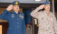 Pakistan air chief visits Royal Saudi Air Force headquarters