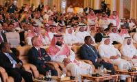 Saudi crown prince, Imran Khan attend glitzy investment forum