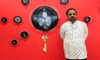 Shahid Rassam presents fusion of art, poetry in latest exhibit