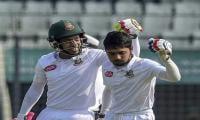 Mominul, Mushfiqur put Bangladesh in command over Zimbabwe