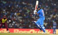 India beat West Indies on final ball to sweep T20 series
