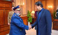 COS Qatar Armed Forces meets PM Imran Khan