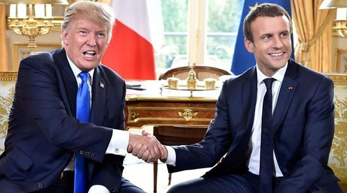 Macron advisor says Trump tweets ´written for Americans´