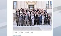 US school district decries photo of students appearing to give Nazi salute