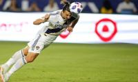 Swedish striker Ibrahimovic named top MLS newcomer