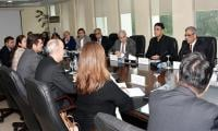 Asad Umar shares PTI govt's vision on economy with IMF delegation