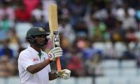 Mahmudullah, spinners give Bangladesh edge