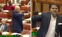 Mushahidullah calls truce with Fawad Chaudhry in Senate
