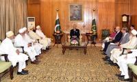 Bohra community delegations meets President Alvi