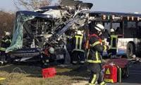 Two school buses crash head-on in Germany, 40 injured: police