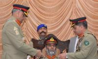 Gen Bajwa visits Army Services Corps Center in Nowshehra