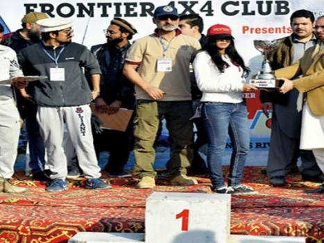 Rida Naveed of Punjab wins KP Women Drag Car Race