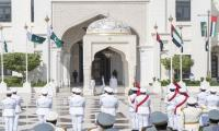 PM lays wreath at Abu Dhabi's Martyrs Memorial