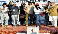Rida Naveed of Punjab wins KP Women Drag Car Race