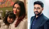 Abhishek Bachchan expresses love for Aishwarya on daughter's birthday