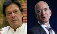 PTI brings in Amazon CEO Jeff Bezos to justify Imran Khan's U-turn statement
