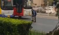 WATCH: Chinese bus driver goes out of his way to help scared dog