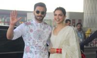 Deepika and Ranveer head to Bengaluru for first wedding reception