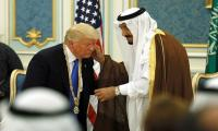 Trump thanks Saudi Arabia for lower oil prices
