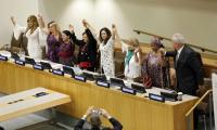UN adopts first resolution aimed at curbing sexual harassment