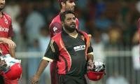 Watch: Mohammad Shahzad hits fastest fifty in T10