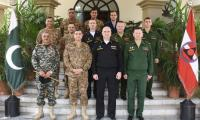 Russian delegation briefed on Pak Army campaign against terrorism, fencing along Pak-Afghan border