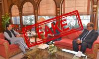 Fact check: No meeting between PM Imran Khan, NAB chairman