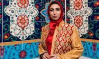 Pakistani-American artist Ambreen Butt's latest work inspires women to 'make a mark'