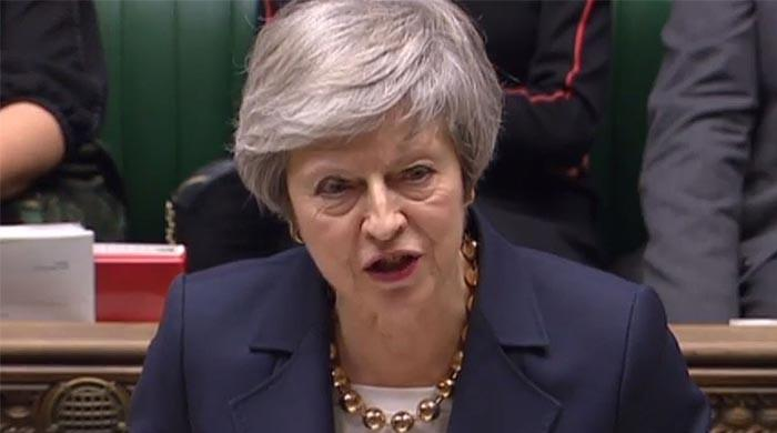 May says Brexit deal defeat could topple UK government