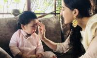 Find out what Taimur gave to his big sister Sara Ali Khan for Raksha Bandhan