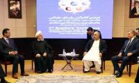 NA speaker meets President Rouhani in Tehran, urges multi-dimensional ties
