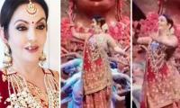 Nita Ambani shares the dance floor with sons at daughter Isha's sangeet ceremony