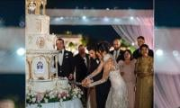 Priyanka-Nick's 7-tier wedding cake adorns lavish multi-day ceremony