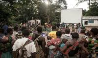 Roving cinema plays public service role in Central Africa