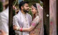Anushka, Virat shower love on each other in heartfelt posts on first wedding anniversary