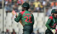 Bangladesh post 255-7 in West Indies ODI