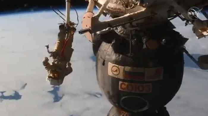 Watch: Russians undertake spacewalk
