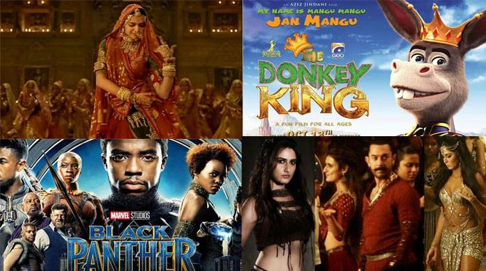 The top 10 most searched movies on Google in Pakistan