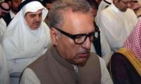 Doors of holy Kaaba opened for President Arif Alvi