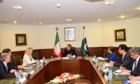 FM Qureshi for need to open Pak-Italy legal migration channels