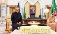 President Alvi, King Salman appreciate growing Pak-Saudi ties