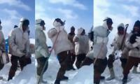Watch: Indian army soldiers dance to hit Pakistani song
