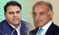 Fawad Chaudhry opposes giving PAC chairmanship to Shahbaz Sharif