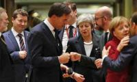 May urges Europe to set date for post Brexit trade deal