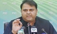 Fawad Chaudhry alleges opposition 'blackmailed' govt for appointing Shahbaz as PAC chairman