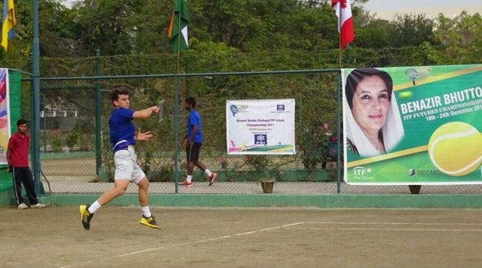 Benazir Bhutto ITF Tennis tourney begins in Islamabad on Monday
