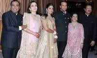 Isha Ambani-Anand Piramal's first reception held at their new home Gulita