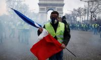 France´s ´yellow vest´ protesters gather on decisive weekend